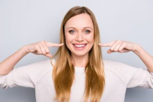 girl smiling teeth whitening